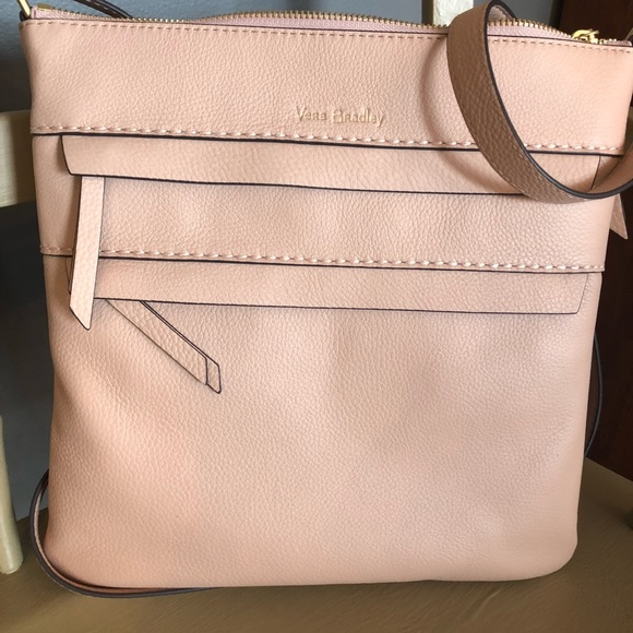 01bd6ab2ddc4 NWT Mallory Triple Zip Hipster Sycamore Pink